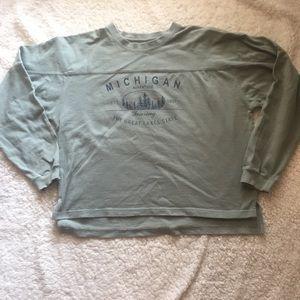 Michigan Great Lakes State Vintage Sweatshirt